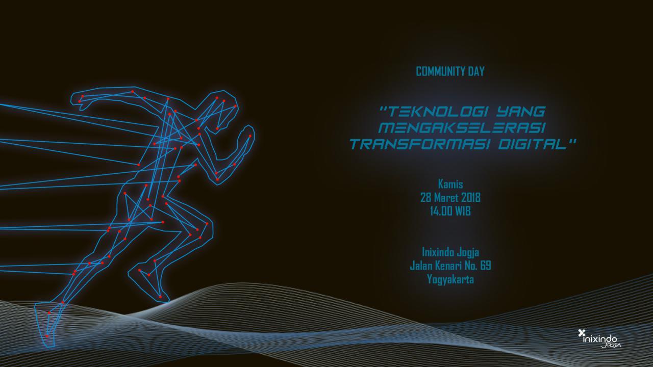 #Comday - Teknologi yang Mengakselerasi Transformasi Digital 1