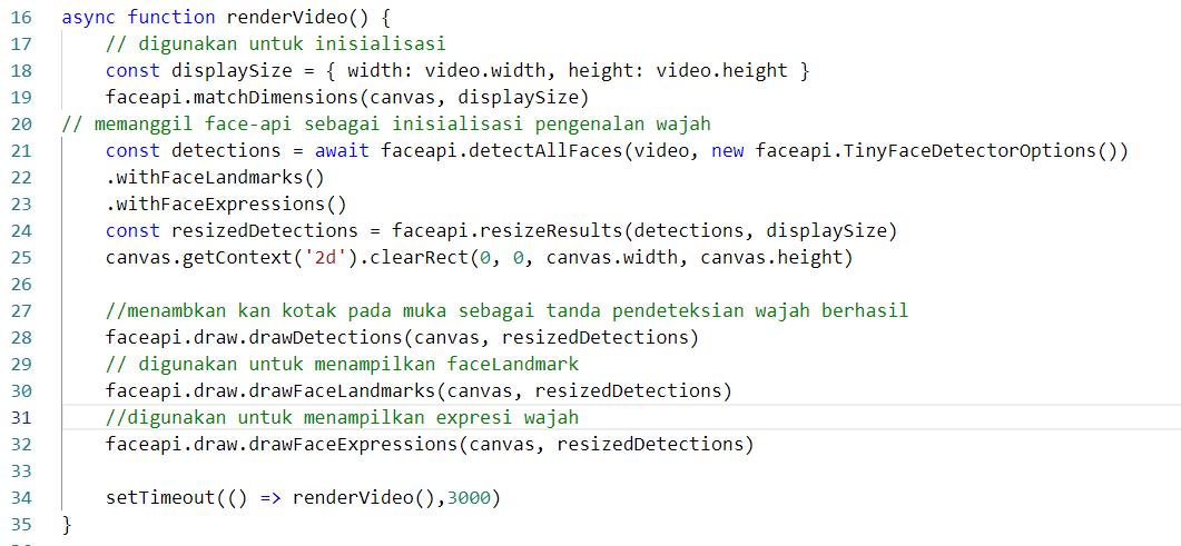 TensorFlow JS untuk Deteksi Wajah (Tutorial Part 1) 18