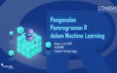 #ComDay – Pengenalan Bahasa Pemrograman R dalam Machine Learning