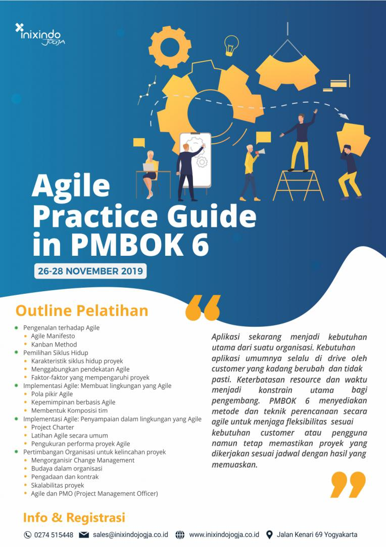 Agile Practice Guide in PMBOK 6th 7
