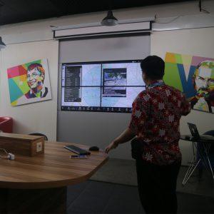 Kunjungan Demo Command Center Smart City Dari Diskominfo Kabupaten Biak Numfor 3
