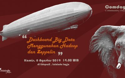 #Comday Dashboard Big Data Menggunakan Hadoop dan Zeppelin