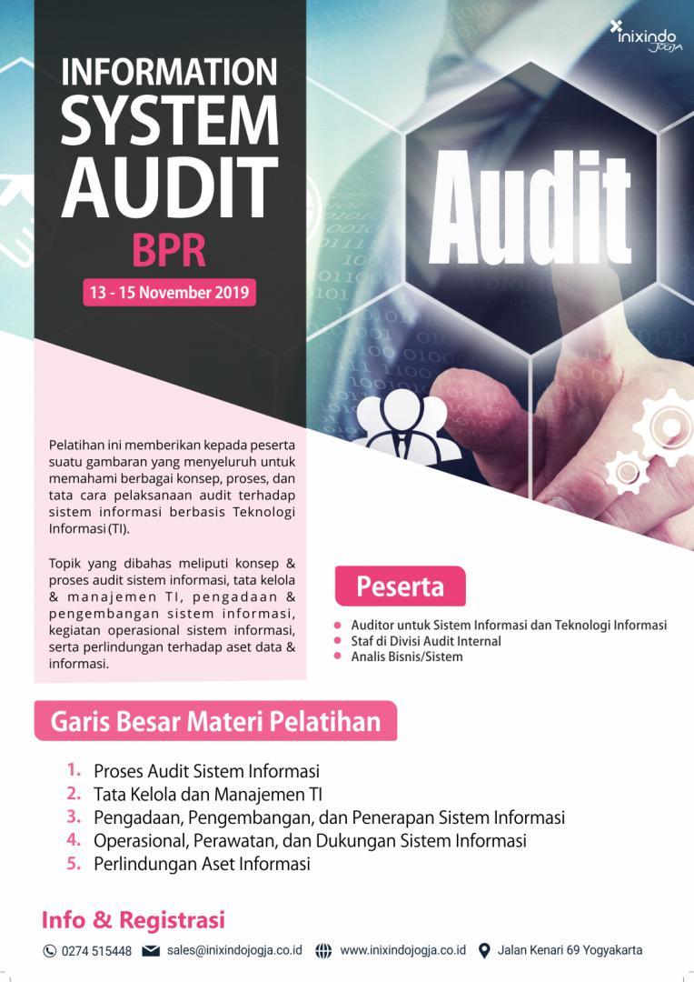 Information System Audit BPR 7