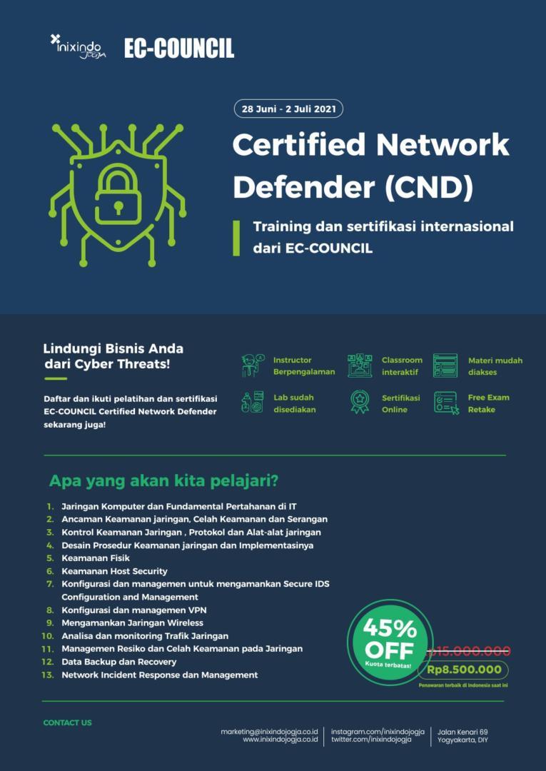 EC-COUNCIL Certified Network Defender 7