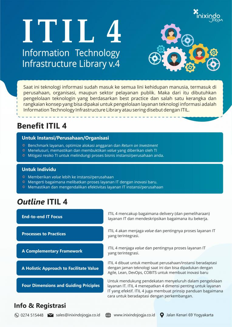 Information Technology Infrastructure Library (ITIL 4) 6