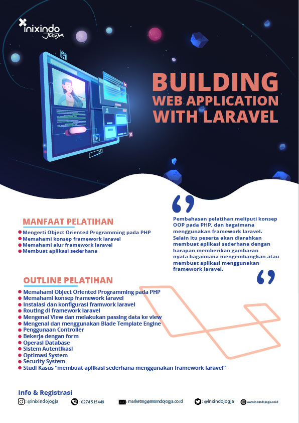 BUILDING WITH LARAVEL