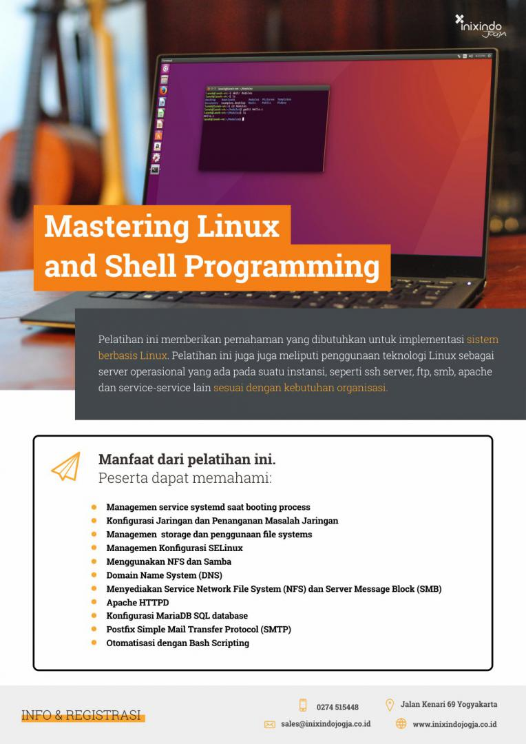 Mastering Linux and Shell Programming