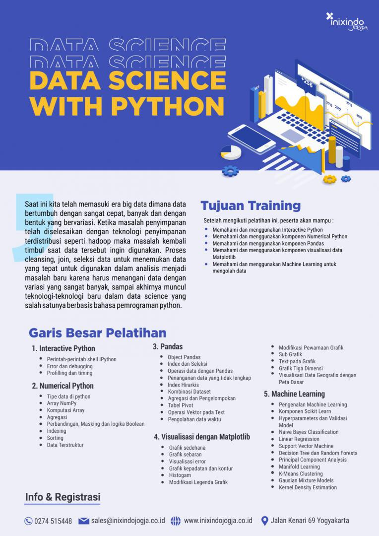 data science dengan python