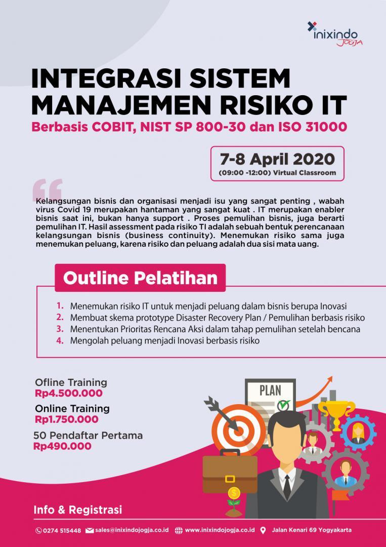 [Online Training] Integrasi Sistem Managemen Risiko IT 6