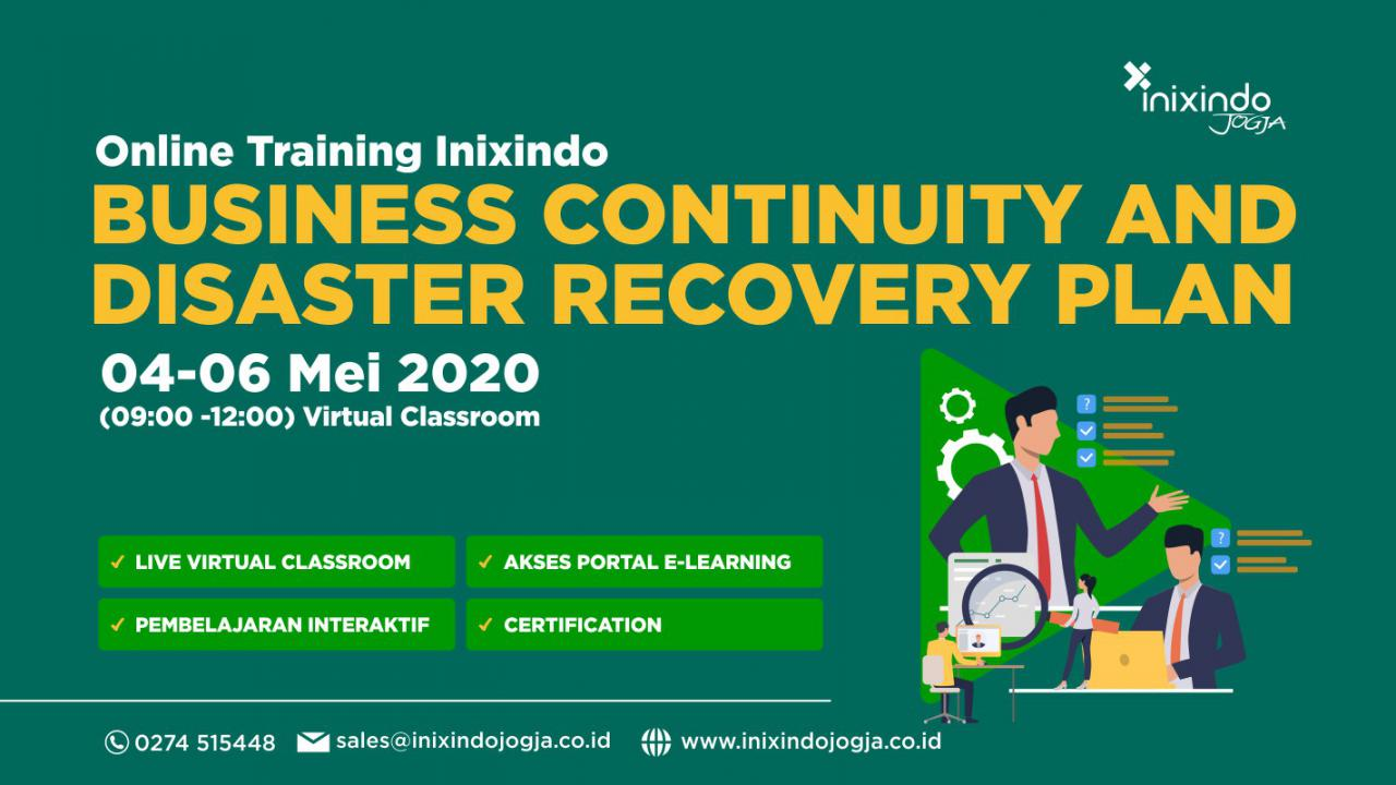 [Online Training Inixindo] Business Continuity and Disaster Recovery Plan 1