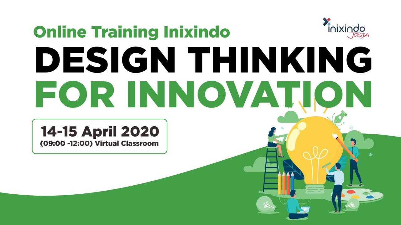 [Online Training Inixindo] Design Thinking for Innovation 1