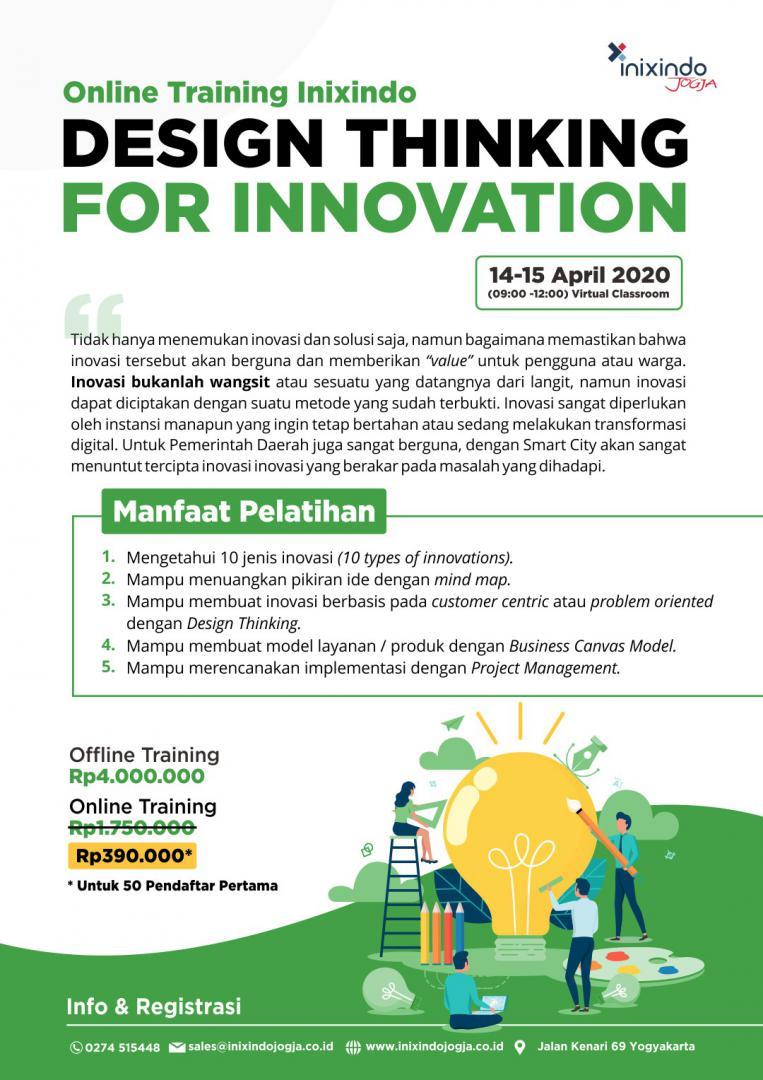 [Online Training] Design Thinking for Innovation 6