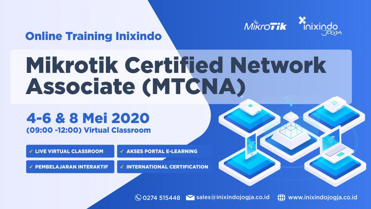 [Online Training Inixindo] Mikrotik Certified Network Associate (MTCNA) 1