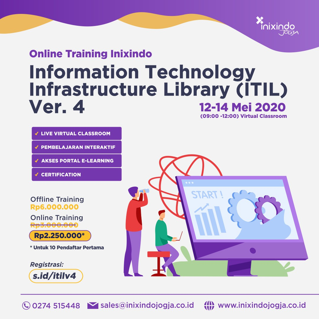 [Online Training] Information Technology Infrastructure Library (ITIL) Ver. 4 7