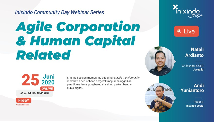 [Webinar] Agile Corporation & Human Capital Related 1