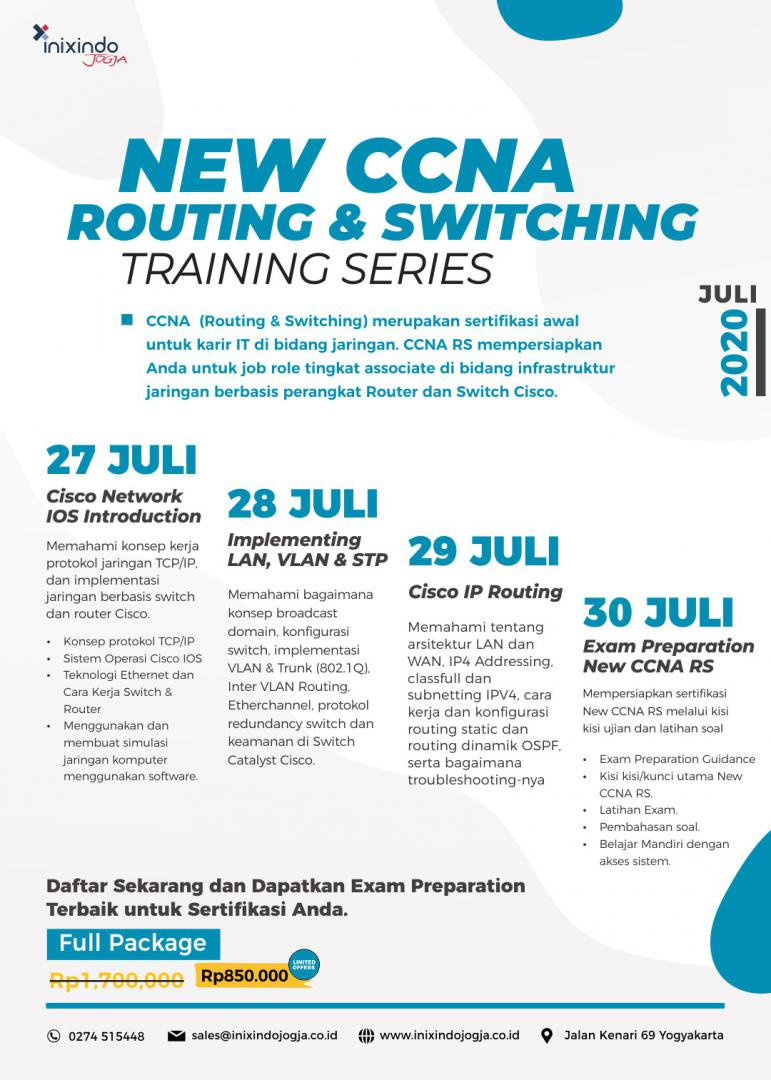 [Online Training] New CCNA Routing & Switching 7