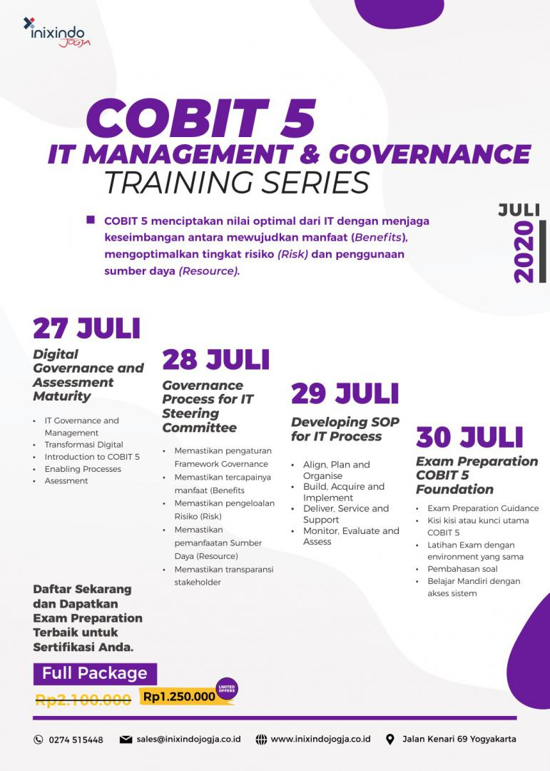 [Online Training] COBIT 5 6