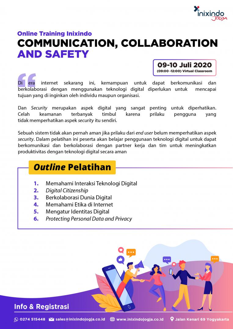 [Online Training] Communication, Collaboration & Safety 7