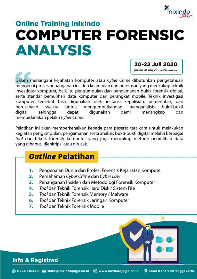 [Online Training] Computer Forensic Analysis 7