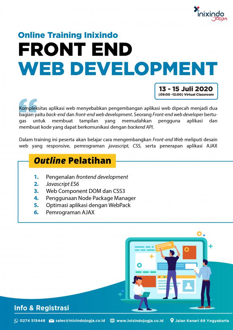 [Online Training] Frontend Web Development 6