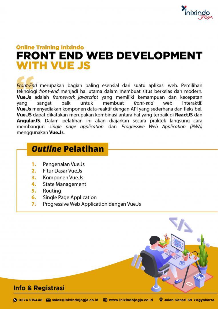 [Online Training] FrontEnd Web Development with Vue JS 7