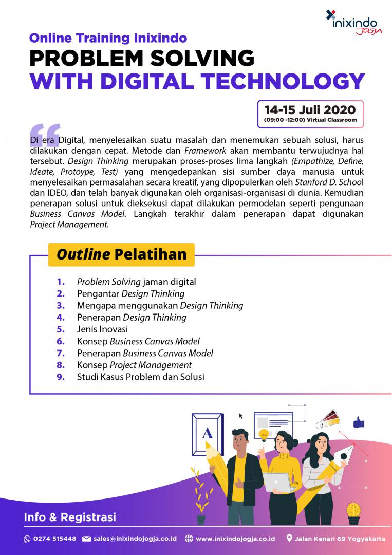 [Online Training] Problem Solving With Digital Technology 6