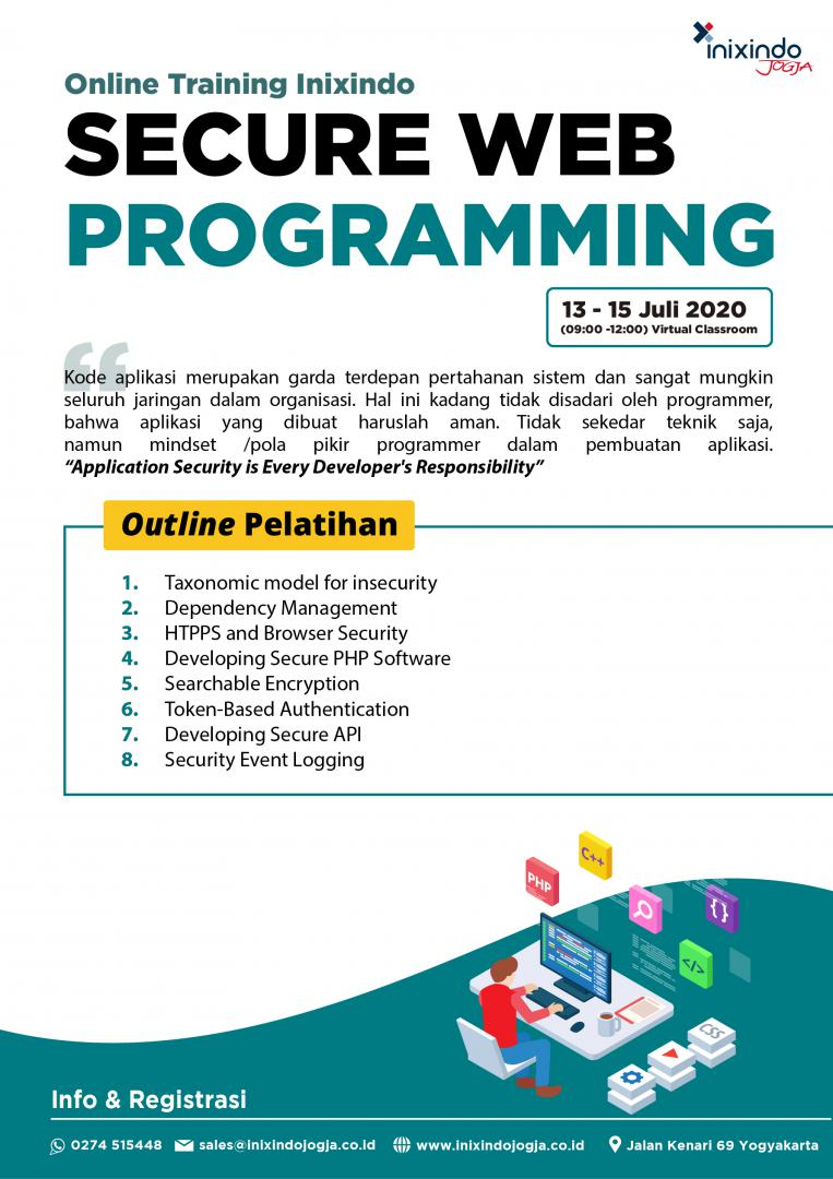 [Online Training] Secure Web Programming 6