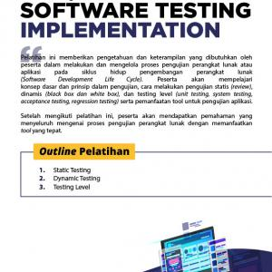 [Online Training] Software Testing Implementation 140