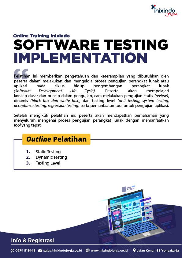 Software Testing Implementation 7