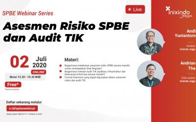 [Webinar] Asesmen Risiko SPBE dan Audit TIK
