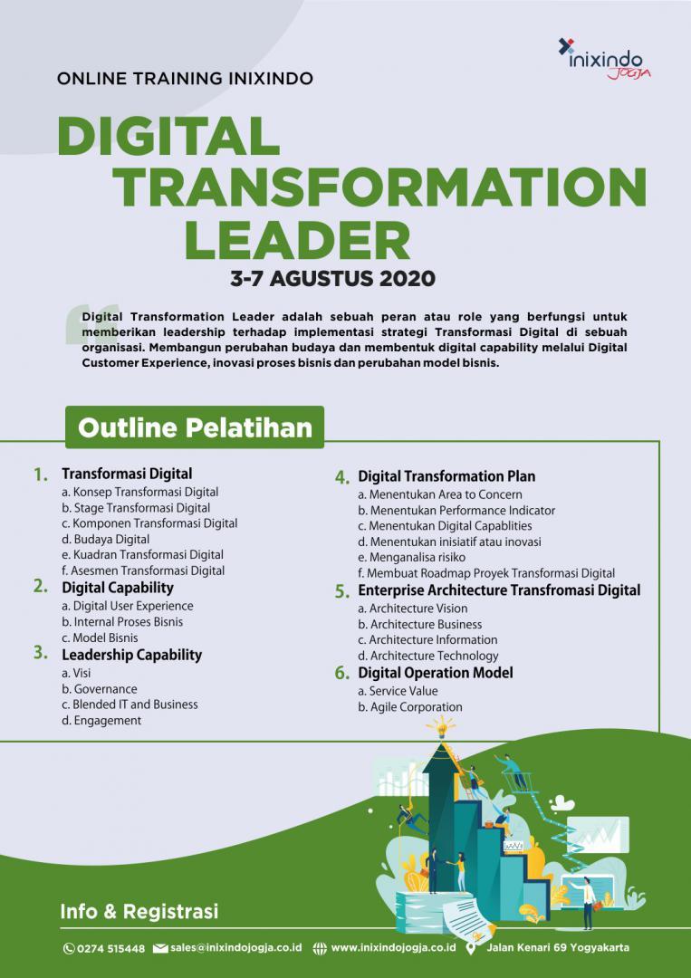 [Online Training] Digital Transformation Leader 6