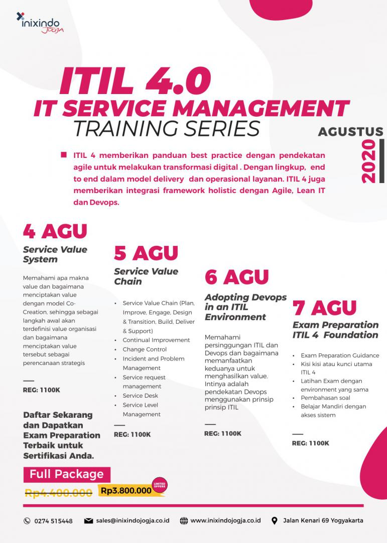 [Online Training] ITIL 4.0 7