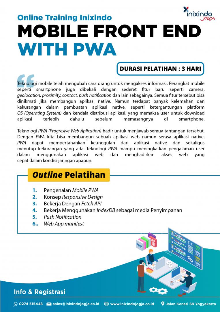 [Online Training] Mobile Frontend With PWA 6