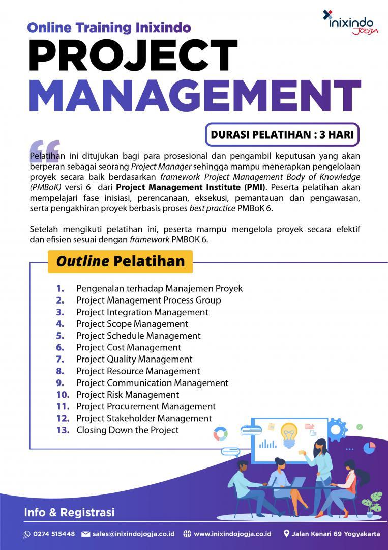 [Online Training] Project Management 7