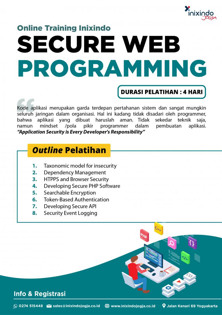 [Online Training] Secure Web Programming 7