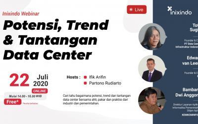 [Webinar] Potensi, Trend dan Tantangan Data Center