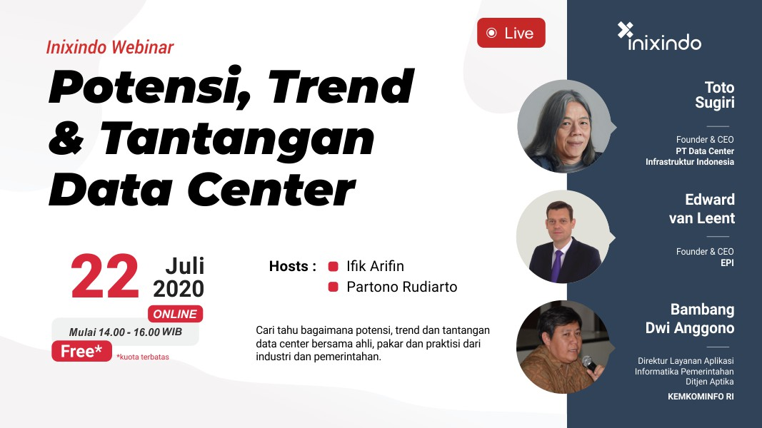 [Webinar] Potensi, Trend dan Tantangan Data Center 1
