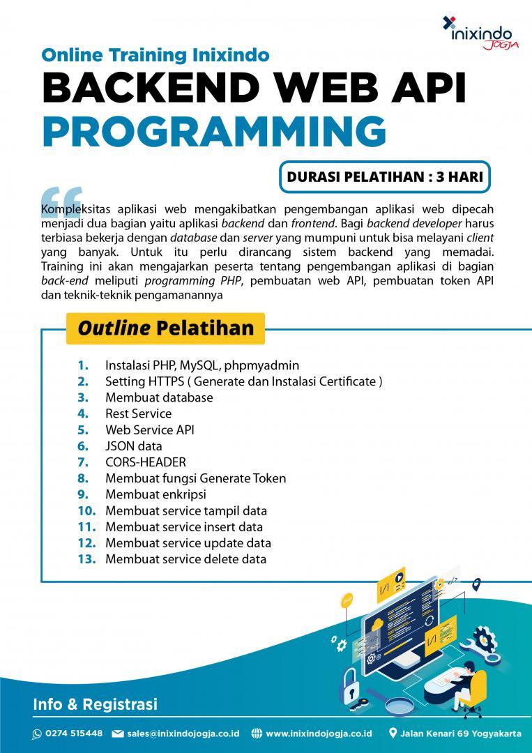 [Online Training] Backend Web API Programming 7