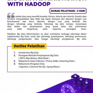 [Online Training] Big Data Administration with Hadoop 110