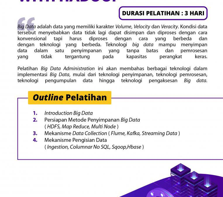 [Online Training] Big Data Administration with Hadoop