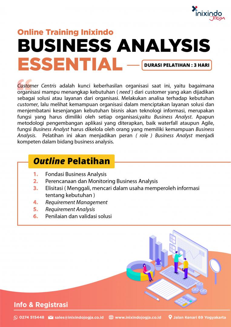 [Online Training] Business Analysis Essential 7