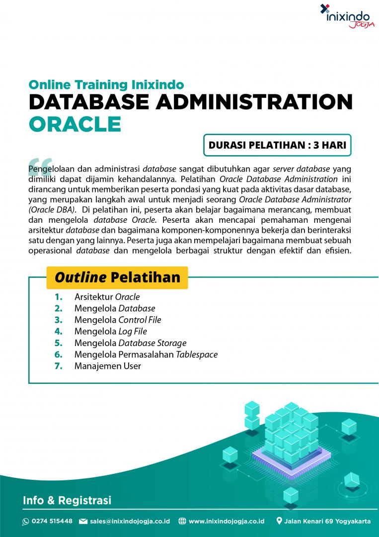 [Online Training] Database Administration : Oracle 6