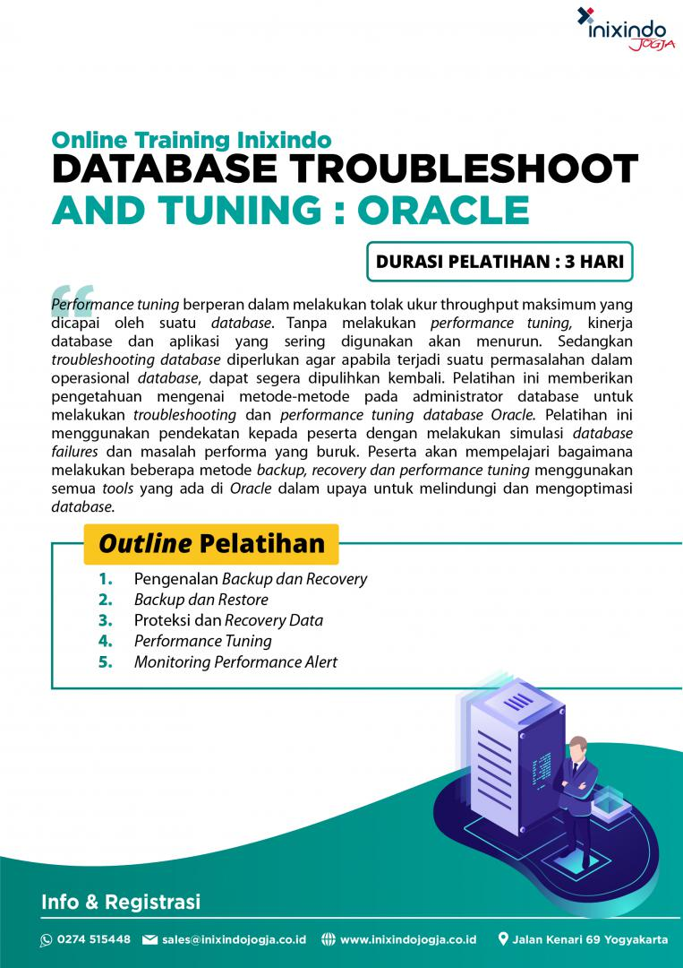 [Online Training] Database Troubleshoot and Tuning : Oracle 6