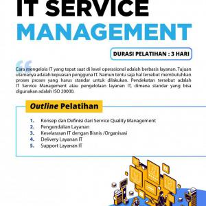 [Online Training] IT Service Management 128
