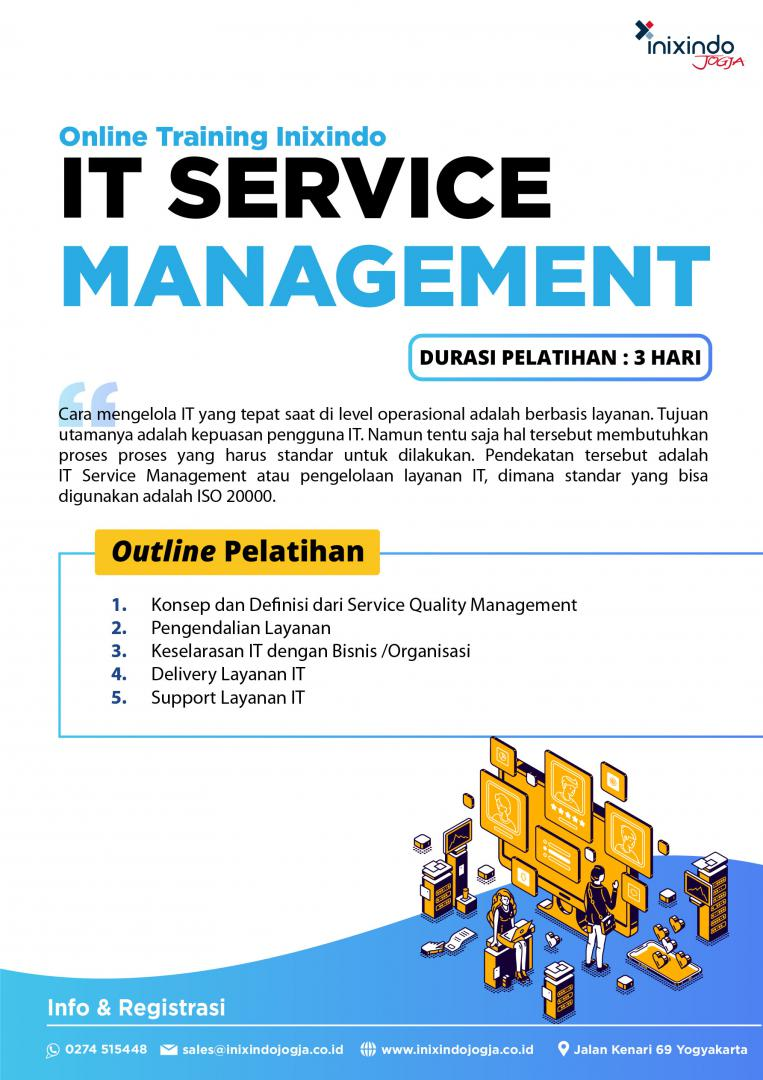 [Online Training] IT Service Management 6