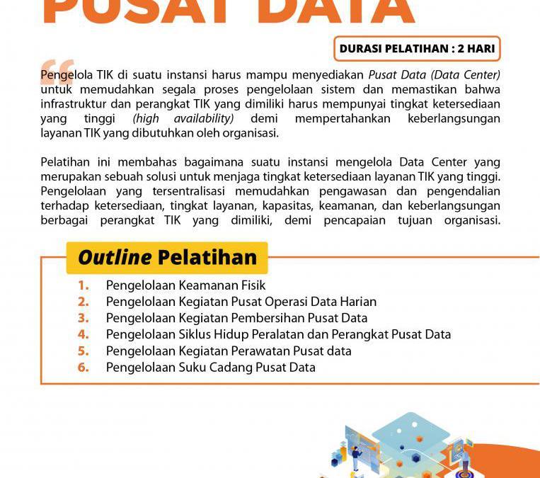 [Online Training] Pengelolaan Pusat Data