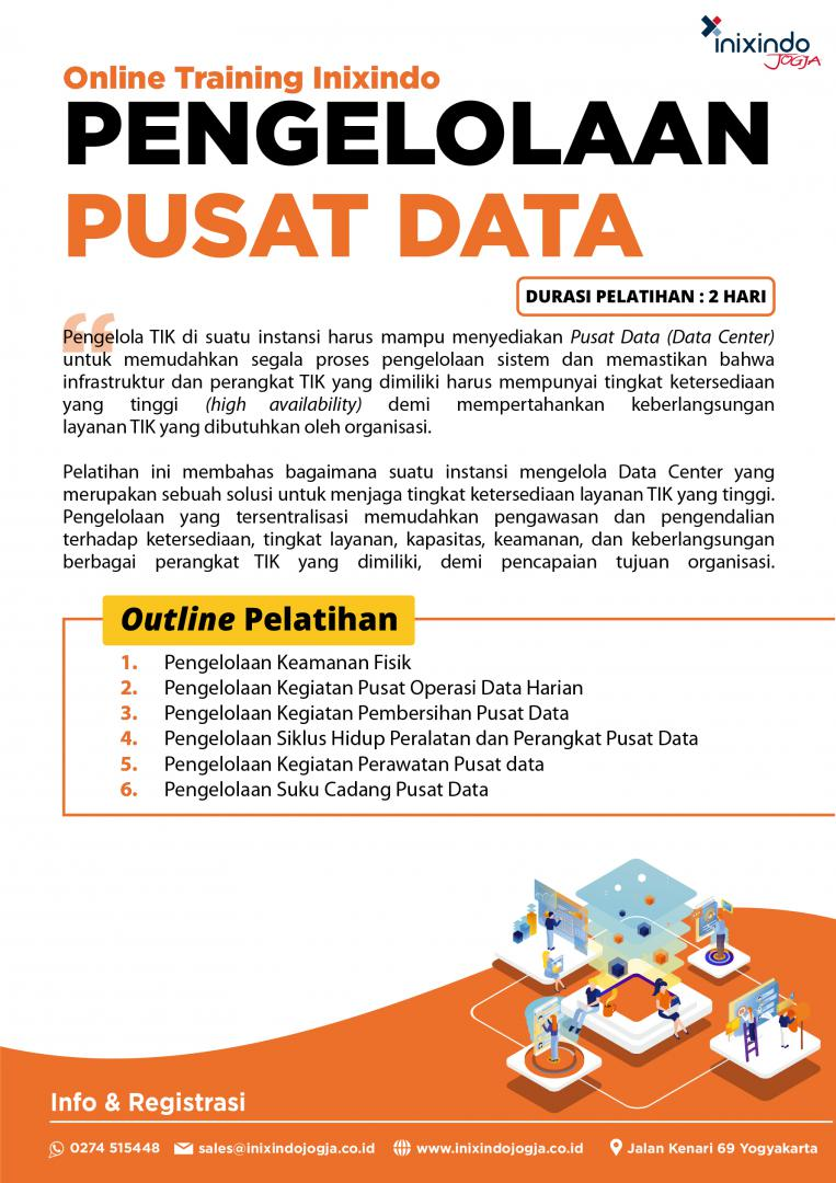 Pengelolaan Pusat Data 7