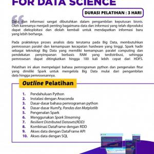 [Online Training] Python Programming For Data Science 50