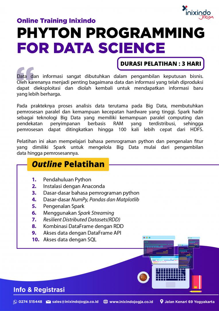[Online Training] Python Programming For Data Science 7