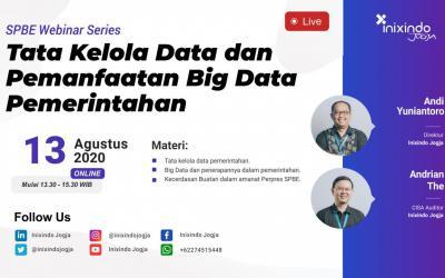 [Webinar] Tata Kelola Data dan Pemanfaatan Big Data Pemerintahan
